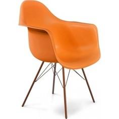 Стул Sheffilton SHT-ST7/S37 оранжевый/медный металик