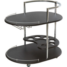 Стол сервировочный Калифорния мебель Официант венге