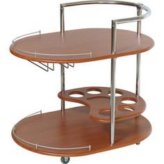 Стол сервировочный Калифорния мебель Официант вишня