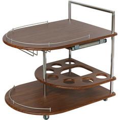 Стол сервировочный Калифорния мебель Бармен орех