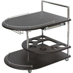 Стол сервировочный Калифорния мебель Бармен венге
