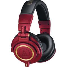 Наушники Audio-Technica ATH-M50X red