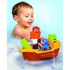 Tomy Игрушка для ванны Пиратский корабль 71602