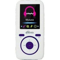 MP3 плеер Ritmix RF-4450 4Gb white/violet