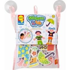 Игрушка для ванны Alex Набор фигурок-стикеров Друзья в сетке, от 3 лет (634W) Alex®