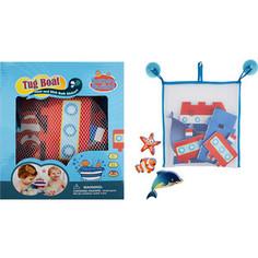 Игрушка для ванны Barney&Buddy Стикеры Построй пароходик (BB014)