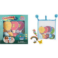 Игрушка для ванны Barney&Buddy Стикеры Учимся считать (BB010)