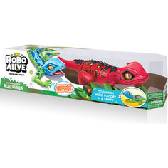 Интерактивная игрушка ROBO ALIVE Робо-ящерица(Красная) (Т10994)