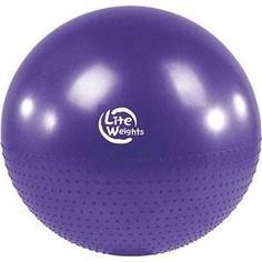 Мяч гимнастический Lite Weights BB010-30 (75см, с насосом, фиолетовый)