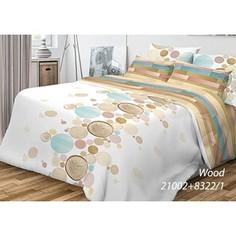Комплект постельного белья Волшебная ночь 2-х сп, ранфорс, Wood с наволочками 50x70 (701954)