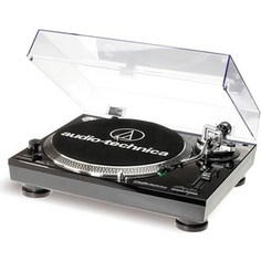 Виниловый проигрыватель Audio-Technica AT-LP120BK-USBHS10
