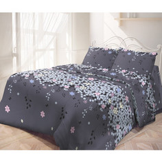 Комплект постельного белья Самойловский текстиль 2-х сп, бязь, с наволочками 70х70 (713953)