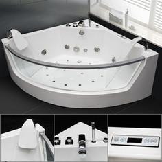 Акриловая ванна гидромассажная Grossman 141x141x60 (GR-14114)