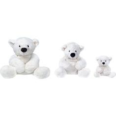 Мягкая игрушка Gulliver Медведь белый, лежачий 43см 7-43061-1