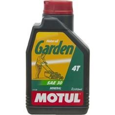 Моторное масло MOTUL Garden 4T SAE 30 1 л