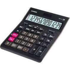 Калькулятор Casio GR-14 черный