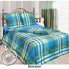 Комплект постельного белья Сова и Жаворонок 2-х сп, бязь, Викинг, n70