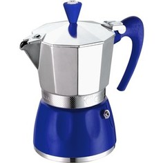 Гейзерная кофеварка на 6 чашек G.A.T. Delizia синий (100006 blue)