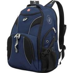Рюкзак Wenger синий/черный (98673215)