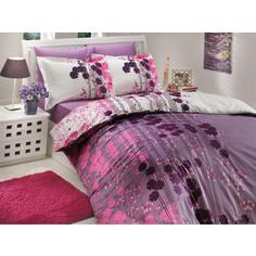 Комплект постельного белья Hobby home collection 2-х сп, поплин, Ventura, лиловый (1501000710)