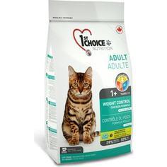 Сухой корм 1-ST CHOICE Neutered Cat Weight Control Chicken Formula с курицей контроль веса для стерилизованных кошек 2,72кг (102.1.261)
