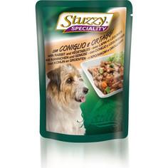Паучи Stuzzy Dog Speciality with Rabbit & Vegetables кусочки в соусе с кроликом и овощами для собак 100г (131.2571)