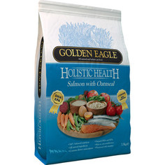 Сухой корм Golden Eagle Holistic Health Salmon with Oatmeal Formula с лососем и овсянкой для собак 2кг (233353)