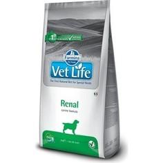 Сухой корм Farmina Vet Life Renal Canine диета при заболеваниях почек для собак 12кг (25395)