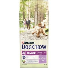 Сухой корм DOG CHOW Senior 9+ with Lamb с ягненком для пожилых собак старше 9 лет 14кг (12308565)