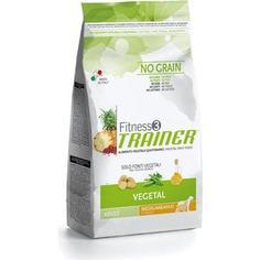 Сухой корм Trainer Fitness3 No Grain Medium/Maxi Adult Vegetal беззерновой вегетарианский для собак средних и крупных пород 3кг