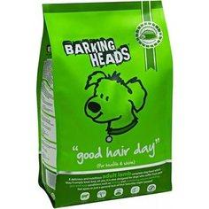 Сухой корм BARKING HEADS Adult Dog Good Hair Day for Health & Shine with Lamb с ягненком и рисом роскошная шевелюра для собак 18кг (1206/18104)