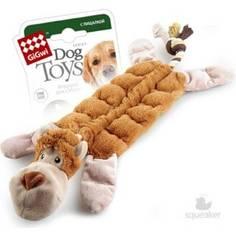 Игрушка GiGwi Dog Toys Squeaker обезьяна с 19-тью пищалками для собаки (75088)