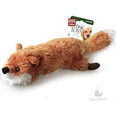 Игрушка GiGwi Dog Toys Squeaker лиса с большой пищалкой для собак (75016)