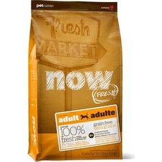 Сухой корм NOW FRESH Dog Adult Grain Free Turkey, Salmon & Duck беззерновой с индейкой, лососем, уткой и овощами для собак 11,35кг (10123)