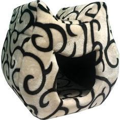 Домик PerseiLine КОШКА для кошек 38*40*40 см (00025/ДМС-4)