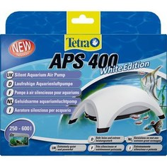 Компрессор Tetra APS 400 Silent Aquarium Air Pomp White Edition для аквариумов 250-600л (белый)