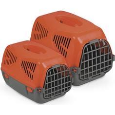 Переноска MPS SIRIO LITTLE красная 50x33,5x31h см для животных