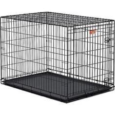 Клетка Midwest iCrate 42 Dog Crate 106x71x76h см 1 дверь черная для собак