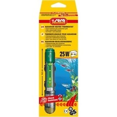 Нагреватель SERA PRECISION 25W Aquarium Heater Thermostat Protective Grid с защитной сеткой регулируемый для воды в аквариуме 25Вт