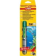 Нагреватель SERA PRECISION 75W Aquarium Heater Thermostat Protective Grid с защитной сеткой регулируемый для воды в аквариуме 75вт