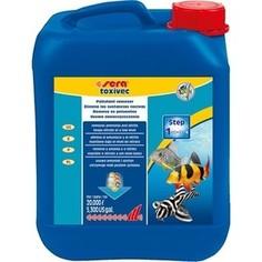 Препарат SERA TOXIVEC Pollutant Remover удаление аммиака, нитритов и других загрязняющих веществ для воды в аквариуме 5л
