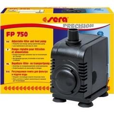 Помпа SERA PRECISION Adjustable Filter and Feed Pump FP 750 погружная для аквариумов