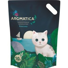 Наполнитель AromatiCat Классика силикагелевый для кошек 10л (АС110)