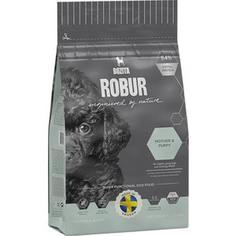 Сухой корм BOZITA ROBUR Mother & Puppy 30/15 с крокетами маленького размера для щенков, юниоров, беременных и кормящих собак 14кг (14542)