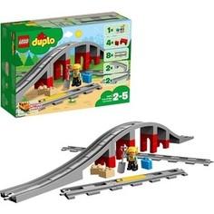 Конструктор Lego Дупло Железнодорожный мост и рельсы