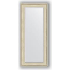 Зеркало с фацетом в багетной раме поворотное Evoform Exclusive 63x148 см, травленое серебро 95 мм (BY 1266)