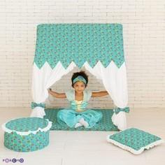 PAREMO Текстильный домик с пуфиком Дворец Жасмин (PCR116-08)