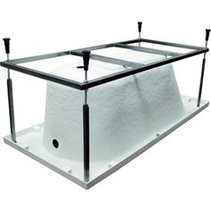 Рама-каркас для ванны Cersanit Lorena 150х70 см, прямоугольный, белая (K-RW-LORENA*150n)