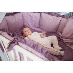 Комплект для круглой кроватки By Twinz 7 пр. Черничный Мусс