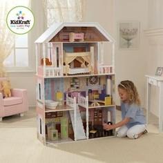 KidKraft Кукольный домик для Барби Саванна (Savannah) с мебелью 14 элементов (65023_KE)